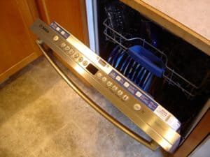 Bosch dishwasher that is not draining